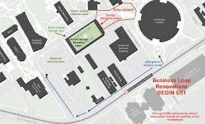 University Of Utah Campus Map by Construction U0026 Commuter Updates Theu