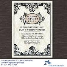 roaring 20s birthday invitations roaring twenties invitations