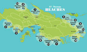st islands map beaches on st articles beaches st st