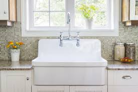 amazing kitchen sink with backsplash with single faucet 8671