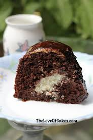 chocolate cake with coconut filling the love of cakes
