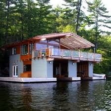 5496 Best Small House Images by Boathouses 10