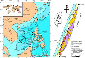 Map Of The South Age And Tectonic Setting Of The East Taiwan Ophiolite