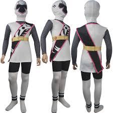 ninja costume for halloween power rangers ninja steel cosplay red ranger brody romero costume