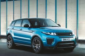 range rover blue and white range rover evoque landmark edition celebrates 600k sales auto