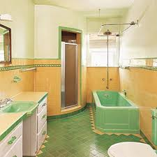 33 vintage yellow bathroom tile ideas and pictures home