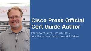 cisco live 2015 wendell odom ccna r u0026s author interview youtube