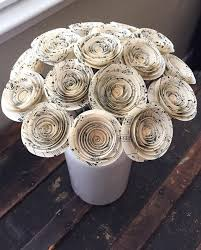 wedding flowers ni paper flowers paper anniversary sheet flowers