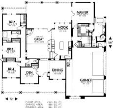 southwest floor plans adobe southwestern style house plan 4 beds 2 5 baths 2505 sq