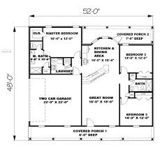 1500 Sq Ft Ranch House Plans 2 Story House Plans With 4 Brilliant Single 1500 Sq Ft Indian