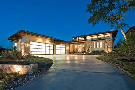 prairie home style neo prairie style parade home transitional exterior