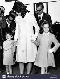 Kennedy Jacqueline John F Kennedy Jr Jacqueline Kennedy And Caroline Kennedy In