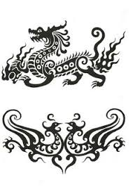 dragon tattoos tribal tribal chinese dragon tattoo designs 2