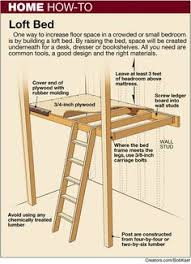 Free Loft Bed Woodworking Plans by Loft Bed Plans How To Build A Budget Loft Bed Woodworking Free
