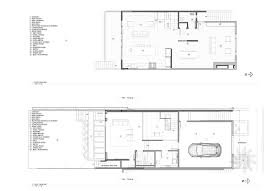 gallery of noe valley house designpad architecture 19 noe valley house 1st 2nd level plans