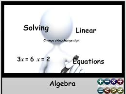 solving linear equations interactive animated powerpoint and worksheet gcse