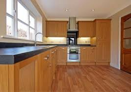 what paint color goes best with hickory cabinets what color floor with light hickory cabinets
