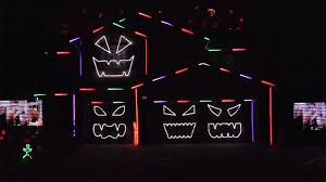 halloween light show this is halloween halloween home light shows 2016 today com