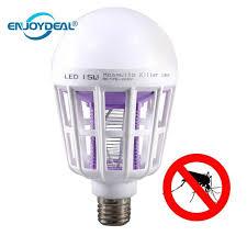 bug repellent light bulbs electronic mosquito killer bulb night light e27 led bulb 15w