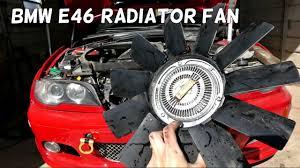 2003 bmw 325i radiator fan how to remove replace clutch radiator fan on bmw e46 325i 323i 328i
