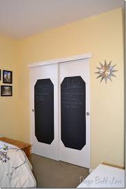 Paint Closet Doors Diy Closet Door Decorating Ideas And Photos