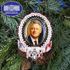president william bill clinton ornament