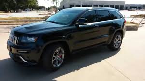 jeep laredo blacked out 41 000 black 2012 srt8 jeep grand cherokee 4wd hemi 6 4l youtube