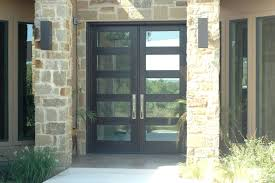 Contemporary Front Entrance Doors Front Doors Double Modern Wood Front Doors Double And Single