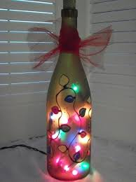 Home Decor With Lights Best 25 Painted Wine Bottles Ideas On Pinterest Painting Wine