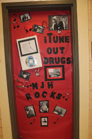 Red Ribbon Door Decorating Ideas Madisonville Junior High
