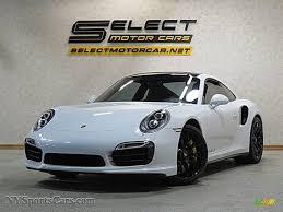 Porsche 911 White - 2015 porsche 911 turbo s coupe in carrara white metallic 166930