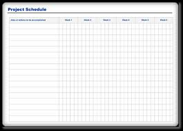 project schedule template u2013 download free sample u0026 examples in