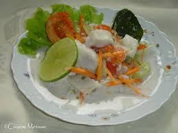cuisine tahitienne salade tahitienne cuisine métisse