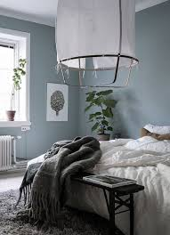 blue grey bedroom via coco lapine design bedroom pinterest