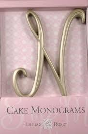 lillian cake topper n monogram wedding cake topper by lillian large gold sale