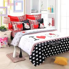 Red Black White Bedroom Ideas Articles With Red Black And White Floral Bedding Tag Trendy