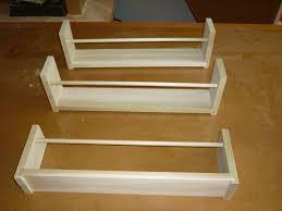 cabinet door spice rack spice racks behind the door by easiersaidthandone lumberjocks