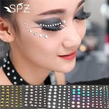 sticker eyeliner eyeshaow glitter
