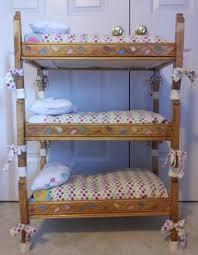 Wood Bunk Bed Plans Breathtaking Triple Bunk Bed Plans Kids Images Decoration Ideas