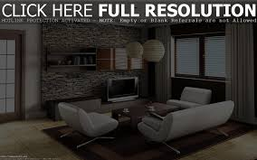 Interior Wall Designs With Stones by Stone Wall Lamp Modern Interior Decoration Empty Room Stock Photo