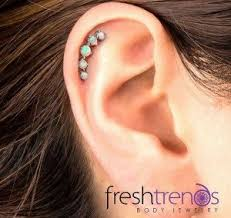 stud cartilage piercing do you single or a helix piercing guide