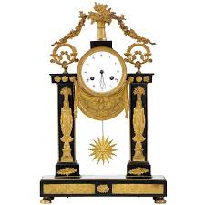 revival clocks 18 for sale at 1stdibs egyptian french empire