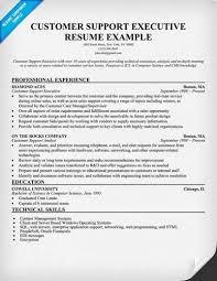 resume format for customer service executive sample customer service support u003ca href u003d