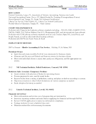 Cosmetologist Resume Examples Student Financial Advisor Resume Template Resume Builder