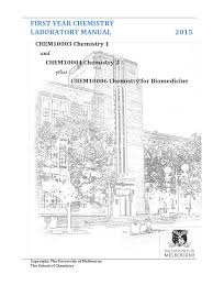 chem10003 10004 and 10006 lab manual 2015 titration experiment
