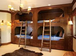 Bunk Beds With Built In Desk Appealing Feel The Warmth Heartwood Custom Woodworks Intended For