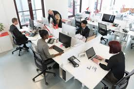 Open Floor Plan Office by Flexible Desk Booking Real Estate U0026 Workplace Solutions