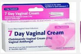 clotrimazole vaginal cream 7 day vaginal cream with applicator