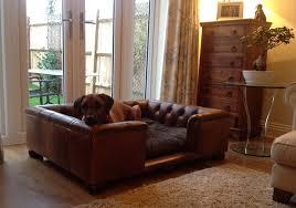 luxury leather sofa bed leather dog sofa beds uk www resnooze com