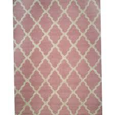 Light Pink Area Rug Light Pink Trellis Rug Home Design Ideas